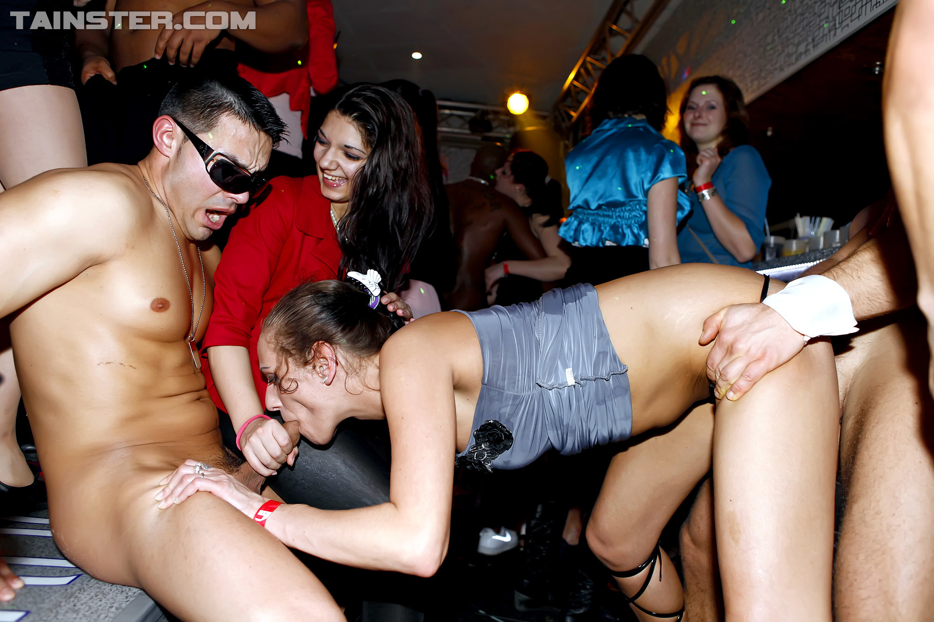 Amateur Young Drunk Party