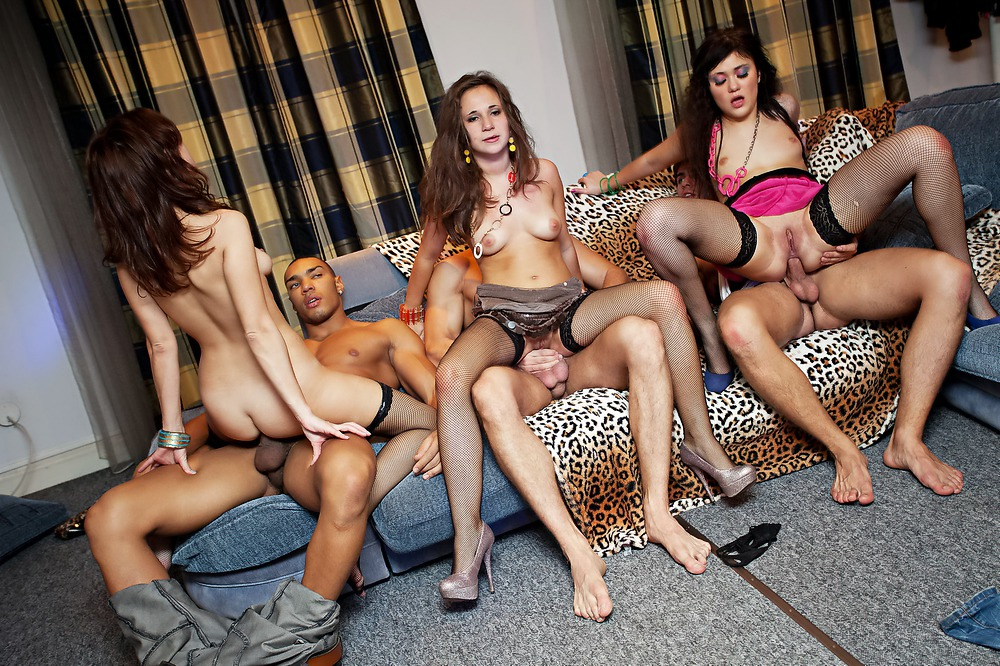 Many Amateur Girls At Hardcore Student Orgy 1