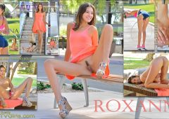 Roxanna in  Ftvgirls Gone Shopping! December 08, 2016  Fetish Play, First Time Experience