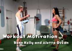 Bizarrevideo Workout Motivation: Benn Kelly, Aletta Ocean April 24, 2018  Straight, Paddle