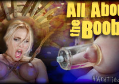 Angel Allwood in  Hardtied All About the Booby October 15, 2014  Kinky Fetish, Rough Sex