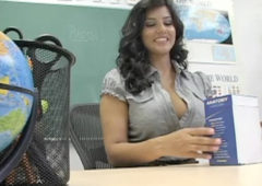 Sunny Leone in  Livenaughtyteacher Sunny Leone in Live Naughty Teacher #2 October 08, 2009  Uniform