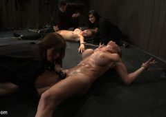 Felony in  Hogtied ORGASMAGEDDON: Part 2/415 minutes in and massive orgasm overload, fisting, squirting, cumming. April 11, 2011  Bdsm, Humiliation