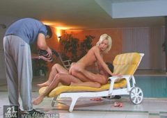 Cora Carina in  21sextury Backstage of Poolside Pleasure February 08, 2004  Blonde, Babes