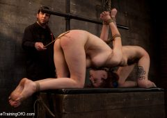 Iona Grace in  Thetrainingofo Day 3 - red and blue January 21, 2011  Female Slave, Bdsm