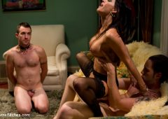 Gia DiMarco in  Divinebitches Mrs. Dimarco's Loving Cuck-Husband August 24, 2011  Pussy Eating, Multiple Orgasms