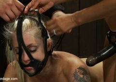 Lorelei Lee in  Devicebondage Hot Blond BDSM Slave get bound in hard metalBrutally fucked by James Dean & Isis Love October 25, 2010  Handler, Slave