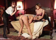 Angel Allwood in  Whippedass Lesbian MILF Retreat March 07, 2014  Bondage, Lesbian