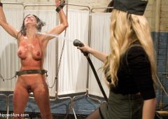 Aiden Starr in  Whippedass Former Contract Star Kirsten Price Violated and Double Penetrated! November 09, 2012  Corporal Punishment, Bdsm