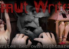 Siouxsie Q in  Infernalrestraints Smut Writer Part One July 04, 2014  Metal Bondage, Shackles