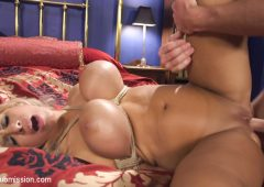 Alyssa Lynn in  Sexandsubmission Dominating My Girlfriend's Mom's Big Fake Tits January 15, 2016  Big Tits, Rough Sex