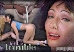 Wenona in  Realtimebondage Double Trouble Part 2 October 26, 2013  Caning, Ball Gag